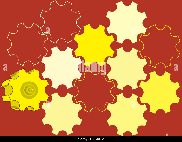 parts gear  backgrounds abstract - Stock Image