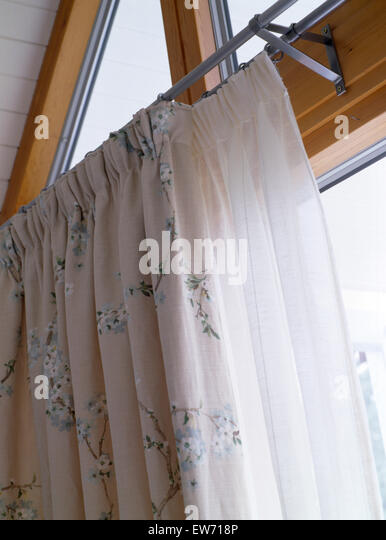 Traditional bedroom soft furnishings drapes stock photos amp traditional