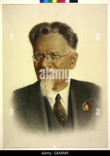 Kalinin, Michail Iwanowitsch - Stock Image