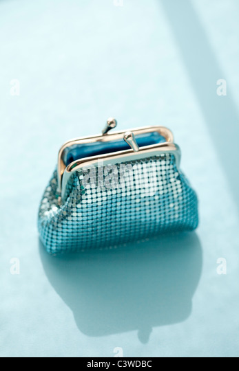 coin purse - Stock Image