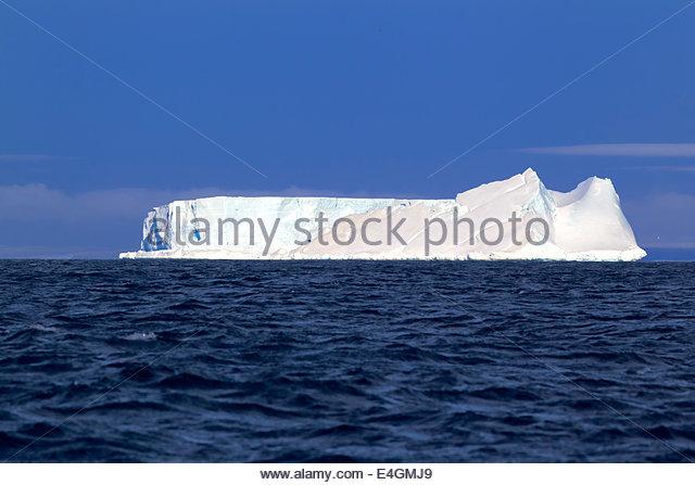 Table iceberg, Weddell Sea, Antarctica - Stock-Bilder