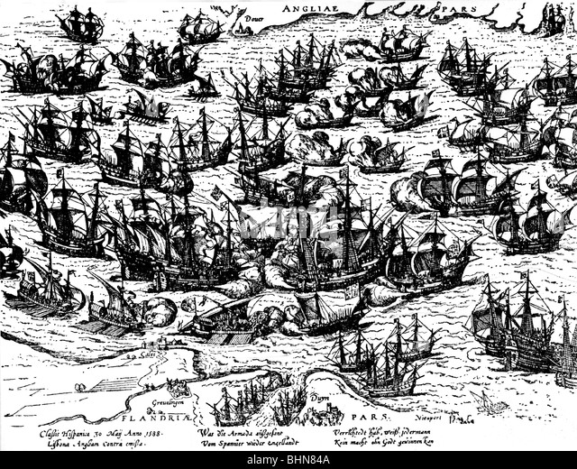 the battle of the spanish armada The spanish armada, also called the invincible armada (infra), and more  on  the monday following, the great battle took place off gravelines, in which the.