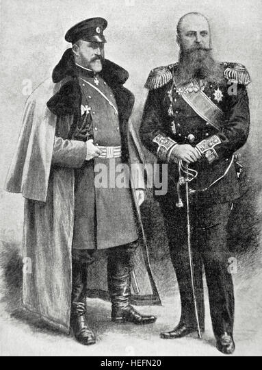 General Alexei Nikolayevich Kuropatkin (1848-1925), Russian Imperial Minister of War and commander-in-Chief of the - Stock Image