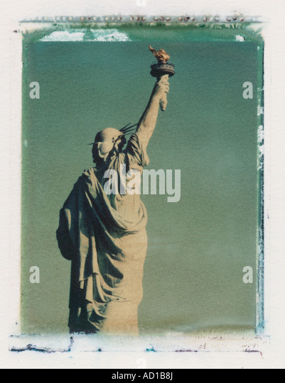 Statue of Liberty, New York City, USA - Stock Image