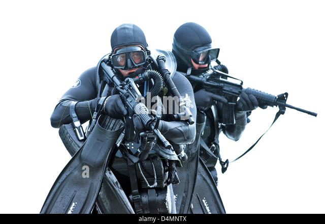 Navy seals training stock photos navy seals training stock images alamy - Navy seal dive gear ...