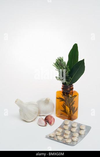 Alternative medicine - Stock Image