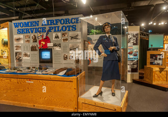 The CAF Airpower Museum. Midland. Texas. USA - Stock Image
