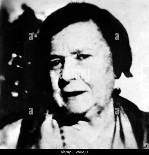 Kate Barker, aka Ma Barker, 1930s - Stock Image