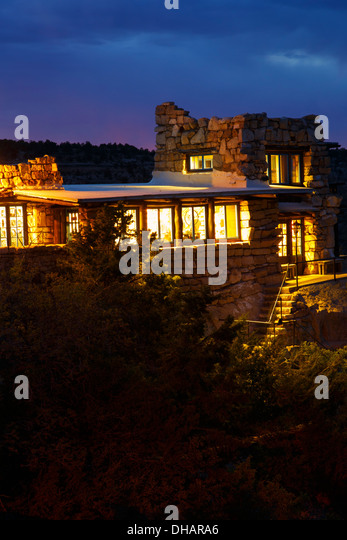Lookout Studio Gift Store, South Rim, Grand Canyon National Park, Arizona. - Stock Image