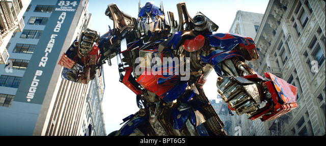 OPTIMUS PRIME TRANSFORMERS (2007) - Stock Image