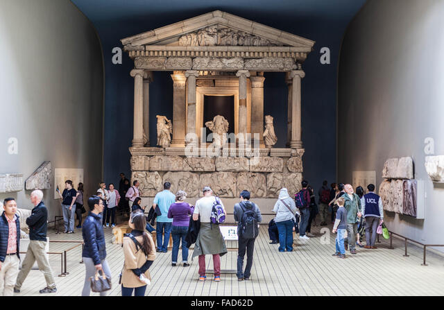 British Museum, London, England, UK - Stock Image