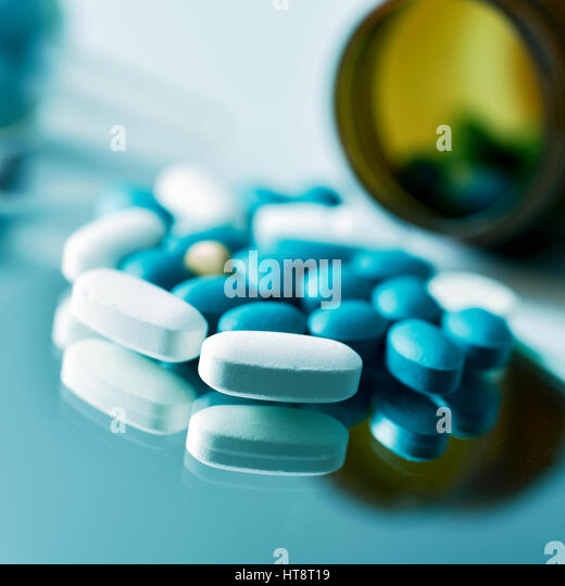 Brown viagra pill