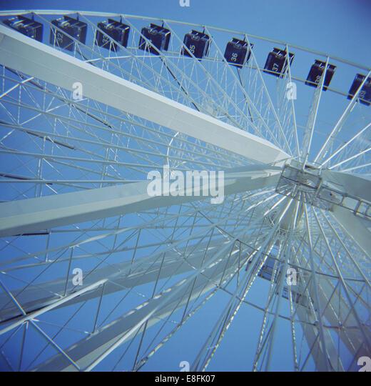 Canada, Quebec, Montreal, Ferris Wheel - Stock Image