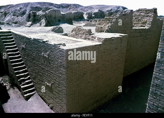 AA 6829. Archival 1960s, Babylon ruins, Iraq - Stock Image