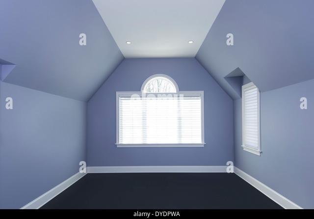 Empty Geometric Room - Stock Image