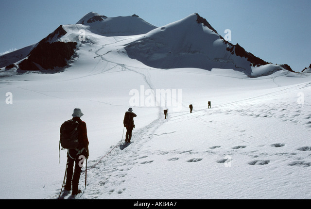 The Hinterer Brochkogel, Ötztal Alps, Austria - Stock Image