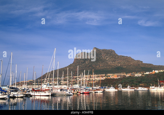 South Africa Cape Peninsula Hout Bay - Stock Image