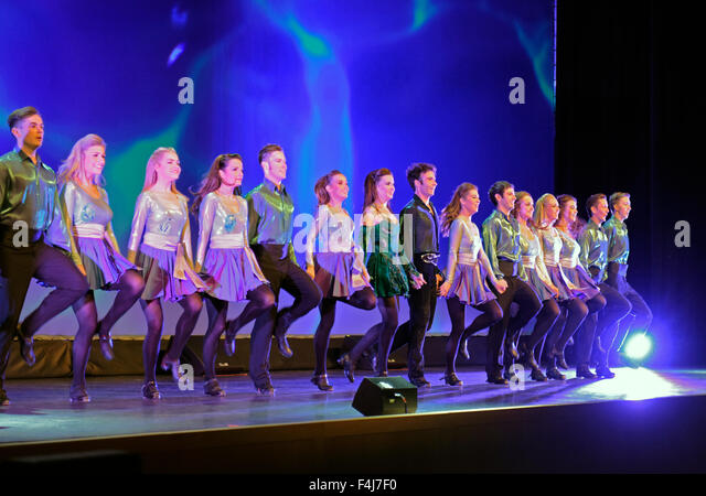 Riverdance performing that the ICANN 54th Public meeting The Internet Corporation for Assigned Names and Numbers - Stock Image