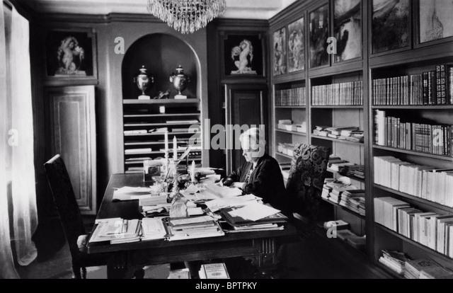 SELMA LAGERLOF SWEDISH AUTHOR (1908) - Stock Image