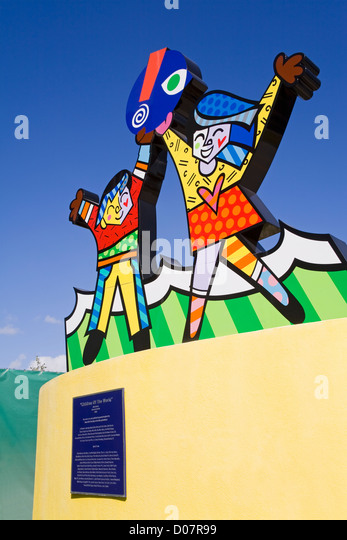 Miami Children's Museum, Miami, Florida, USA - Stock Image