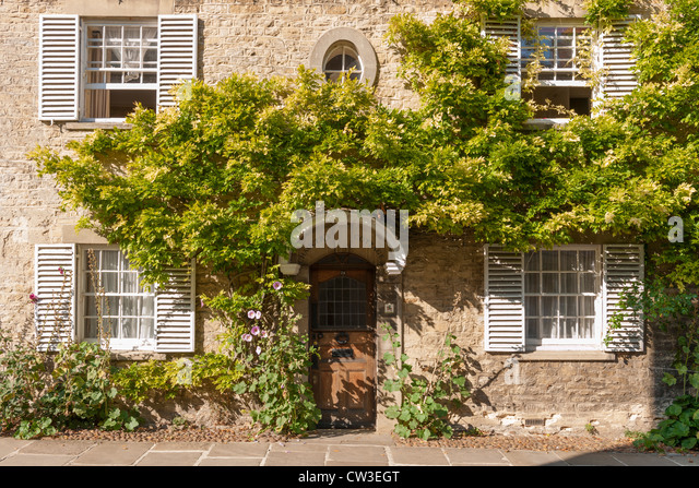Chaucer's House Cottage, Woodstock - Stock Image