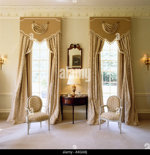 Kitchen Curtain Pelmets: Pelmets Stock Photos & Pelmets Stock Images