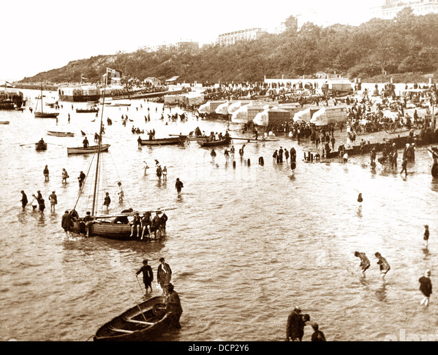 Southend-on-Sea Victorian period - Stock Image