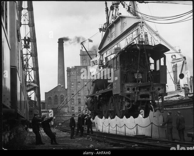 Birkenhead Docks - Stock-Bilder