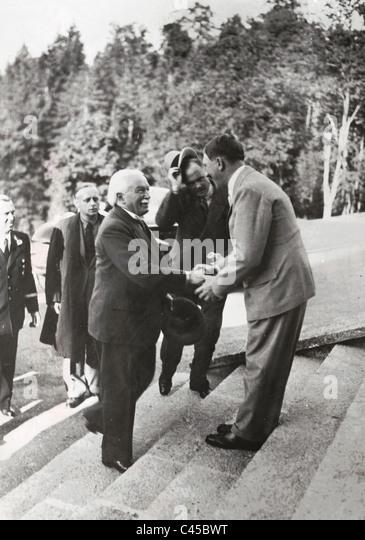 Hitler, Lloyd George, 1937 - Stock Image