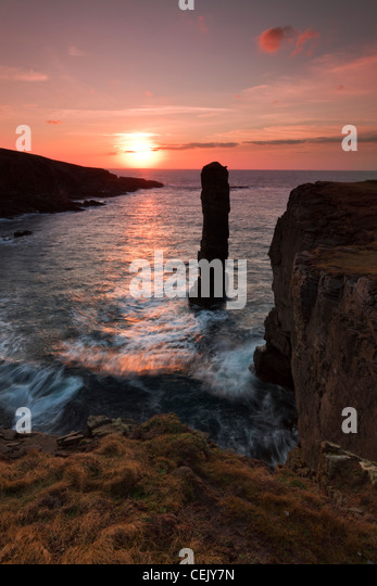 Orkney Islands, Yesnaby - Stock Image