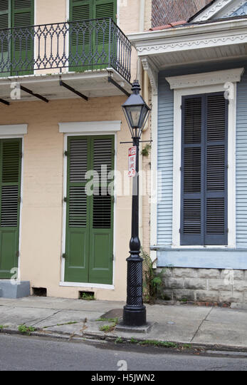 New Orleans main street, architecture, USA - Stock Image