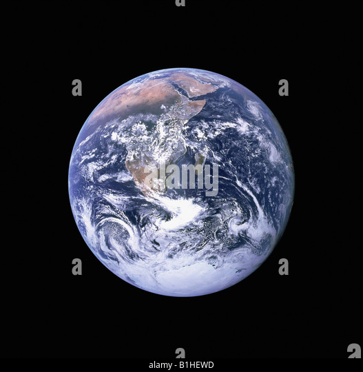 View of the Earth from Space - Stock Image