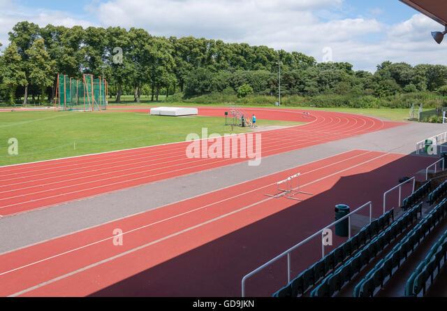 Thames Valley Athletics Centre, Pococks Lane, Eton, Berkshire, England, United Kingdom - Stock Image