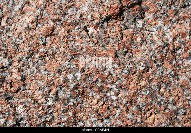 Pink To Gray Granite : Feldspar stock photos images alamy