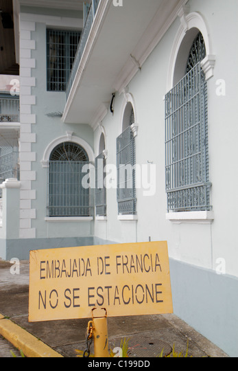 Panama City Panama Casco Viejo San Felipe Plaza de Francia Las Bovedas World Heritage Site colonial district French - Stock Image