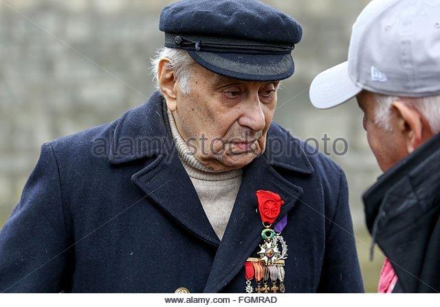 Ivry-sur-Seine, France. février 21st, 2016. FRANCE, Ivry-sur-Seine: French militant of Armenian descent Arsène - Stock Image