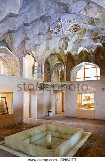Asia,Iran,Qazvin,Chehel Setoon palace - Stock Image