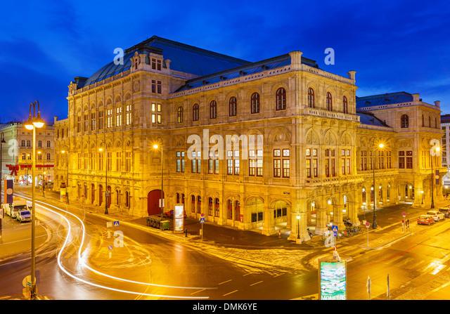 State Opera House, Vienna, Austria - Stock Image