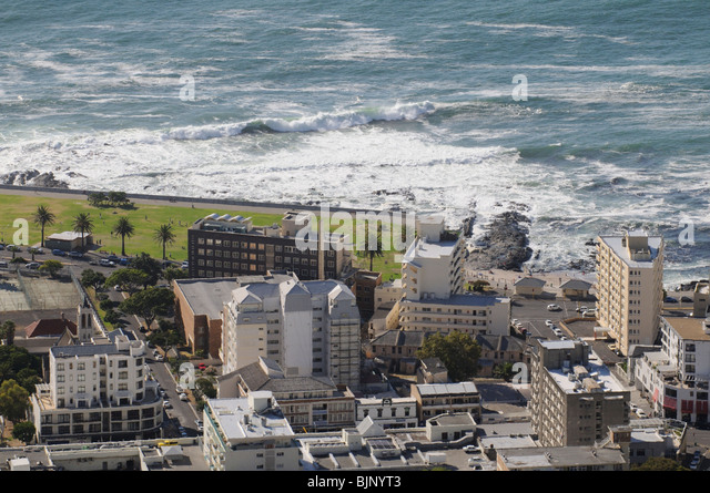 Sea Point Cape Town South Africa - Stock Image
