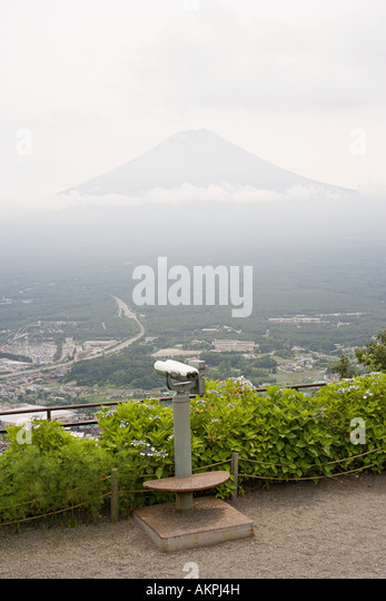 View to mount fuji - Stock Image