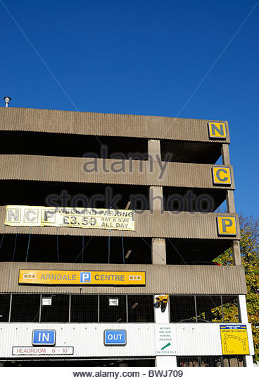 Ncp Car Park Milton Keynes Centre  Milton Keynes