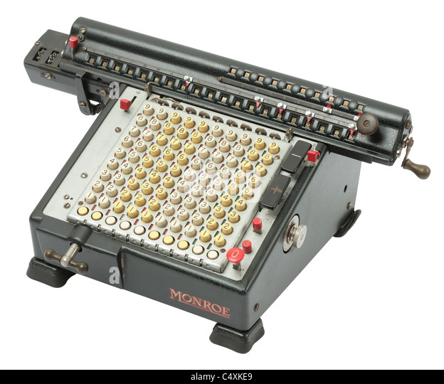 calculating machine company antique