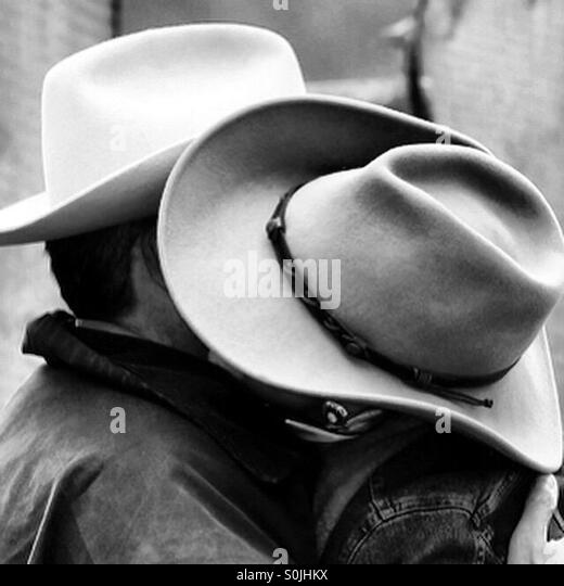 Two hats - Stock Image
