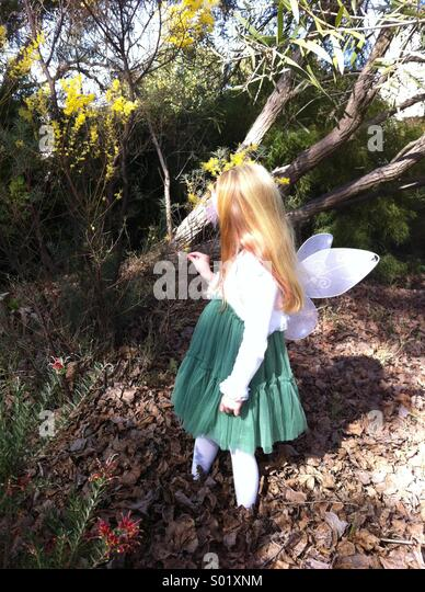 Fairy in the garden - Stock-Bilder