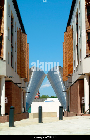 Phoenix Initiative Millennium Place Coventry England UK - Stock Image