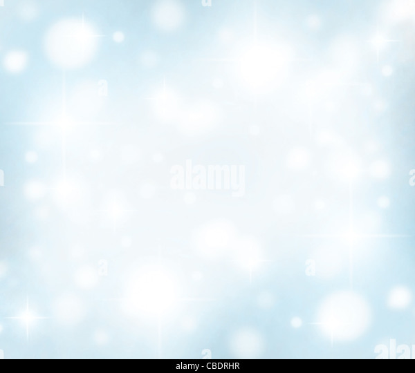 Christmas holiday background card made of abstract defocused magic lights - Stock Image