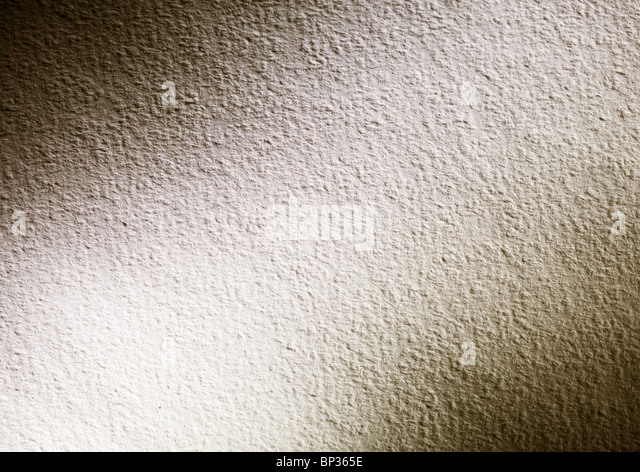Contrasting texture of watercolor paper with dark corners. - Stock-Bilder