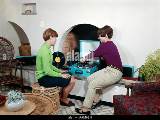 Vintage 1960s teen playtime