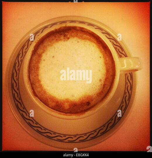 Mexico City, Mexico Cup Of Coffee - Stock Image