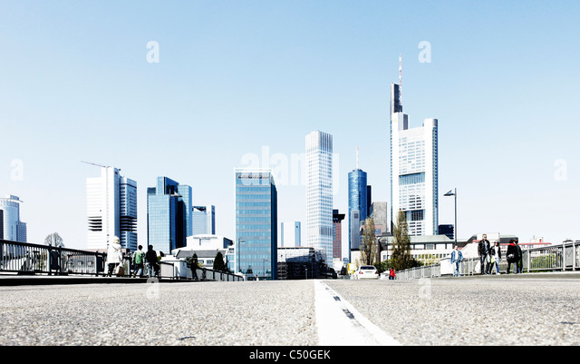 Frankfurt am Main, Hesse, Germany, Europe - Stock Image